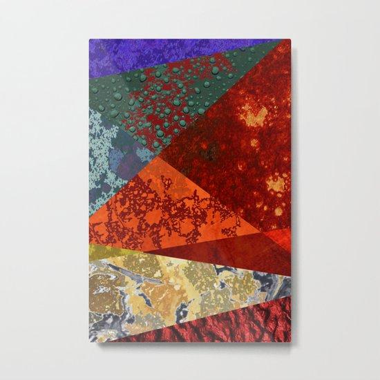 Abstract #300 Oxidation Metal Print