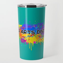 River Arts District - Asheville - AVL 17 Green Travel Mug