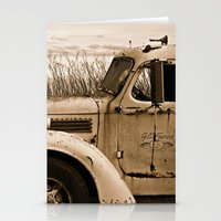 truck Stationery Cards featuring Vintage Truck by Urlaub Photography