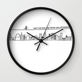 Highwire Wall Clock