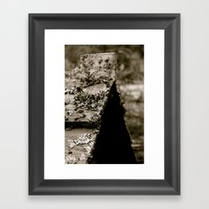 Native Grave Framed Art Print