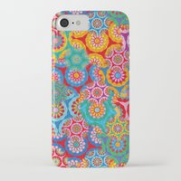 bohemian iPhone & iPod Cases featuring Bohemian by Helene Michau