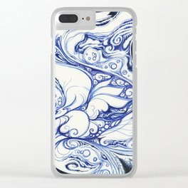 Dreaming and Becoming Clear iPhone Case