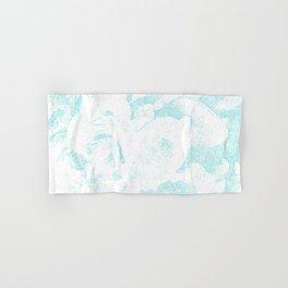 711 Camellias 1-6 Light Blue Hand & Bath Towel