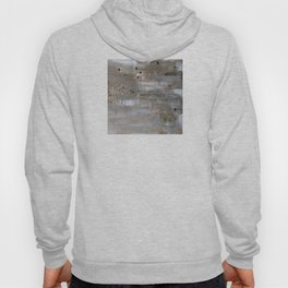 Silver and Gold Abstract Hoody