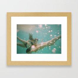 Underwater Magic Framed Art Print