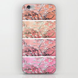 Vincent Van Gogh Almond Blossoms Panel Pink Peach iPhone Skin