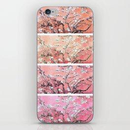 Vincent Van Gogh Almond Blossoms Panel Pink Peach iPhone Skin