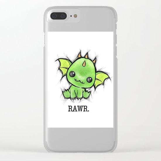 Baby Dragon Kawaii Clear iPhone Case