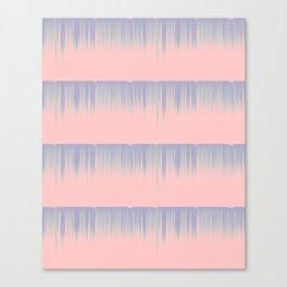 Drip Stripe Canvas Print