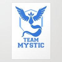 TEAM MYSTIC Art Print