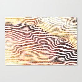 Super Sedimentary Canvas Print