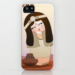 Kokeshi Guanche iPhone Case