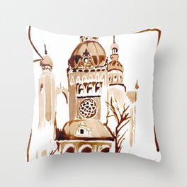 The wold that is not Throw Pillow