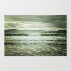 Rolling in (color) Canvas Print