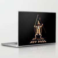 gandalf Laptop & iPad Skins featuring Muten Roshi Gandalf by le.duc