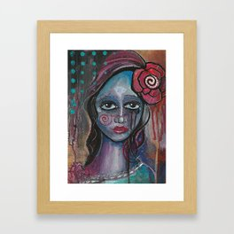 Deya Framed Art Print