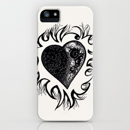 """If I Had A Heart, This Is What It Would Look Like"" iPhone Case"