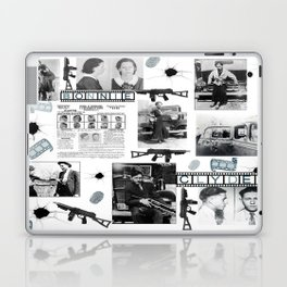 Bonnie And Clyde Laptop & iPad Skin