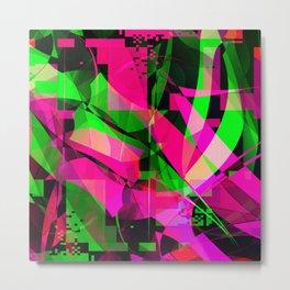 pink & lime Metal Print
