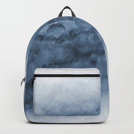 Blue Watercolour Art Backpack