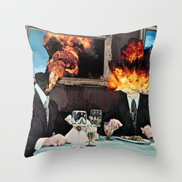 Every Act of Creation is First an Act of Destruction Throw Pillow