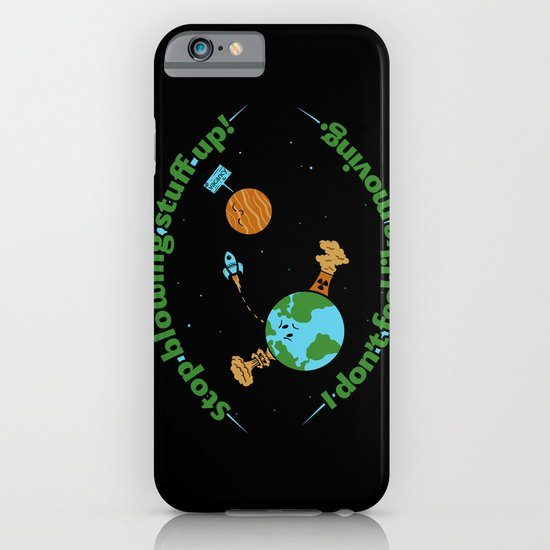 Stop It iPhone & iPod Case