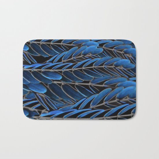 Floral abstract(42) Bath Mat