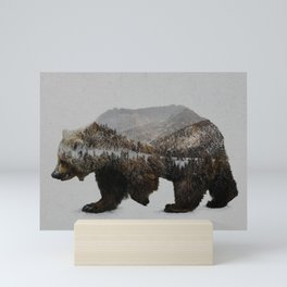 The Kodiak Brown Bear Mini Art Print