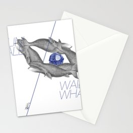 Wailin' Whale Vintage Design Stationery Cards