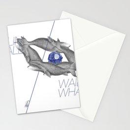 Wailin' Whale Vintage Design Stationery Cards