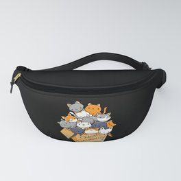 Over Catpawcity Fanny Pack