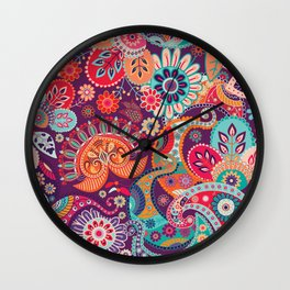 Shabby flowers #27 Wall Clock