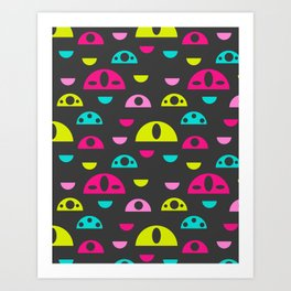 Sweet Bot Eyes Art Print