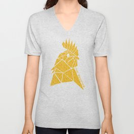Chinese Zodiac Rooster Unisex V-Neck