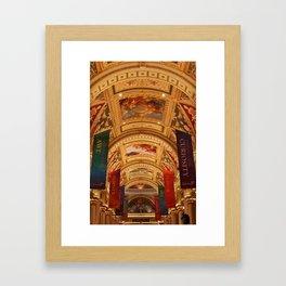 Foyer Ceiling Design Framed Art Print
