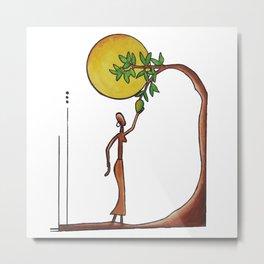 Underneath the Mango Tree Metal Print