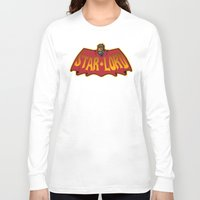 star lord Long Sleeve T-shirts featuring Bat- Star Lord by Buby87