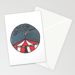 Greatest Show (Night) Stationery Cards