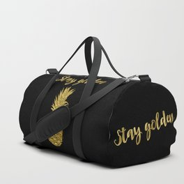Stay Golden Precious Tropical Pineapple Duffle Bag