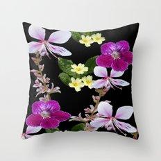 FLOWERED PHOTO DESIGN Throw Pillow