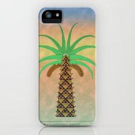 La Palmera Canaria o phoenix canariensis iPhone Case