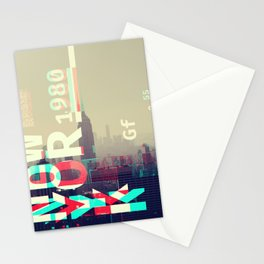 GLITCH CITY #8: New York Stationery Cards