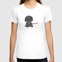 vader T-shirts featuring Vader by Justin Temporal