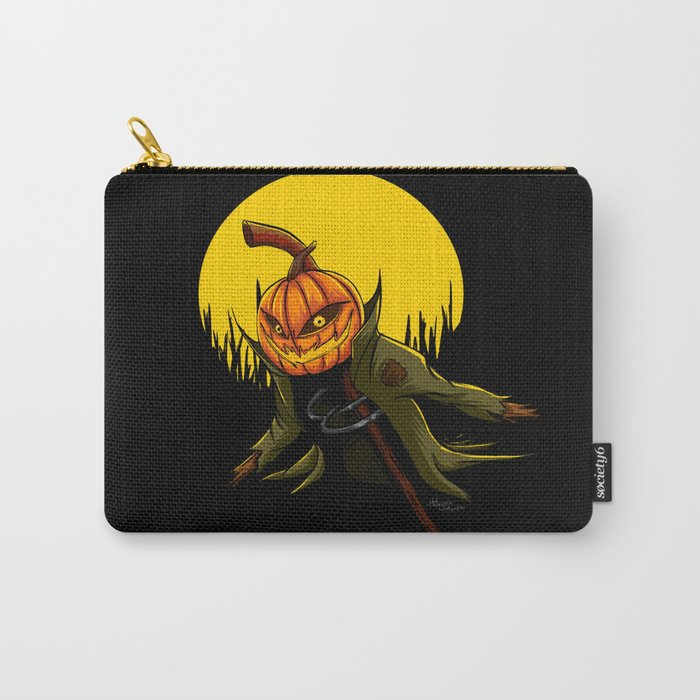 Pumpkin scarecrow Carry-All Pouch