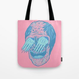 Hand/Eye Tote Bag