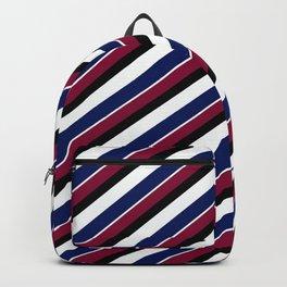 Team Colors 1....Navy, maroon Backpack