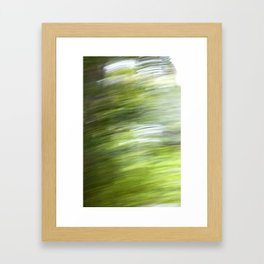 Rainy Day Motion 1 Framed Art Print