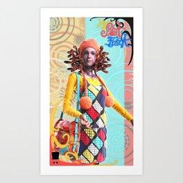 MySweetFreak - Molly Art Print