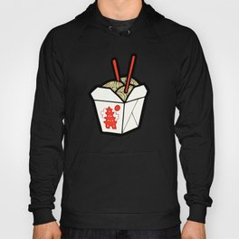 Take-Out Noodles Box Pattern Hoody